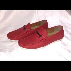 Men's size 8.5 New, J.S. Awake in red.